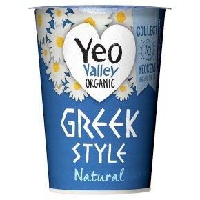 Yeo Valley Organic Greek Style Natural Yogurt