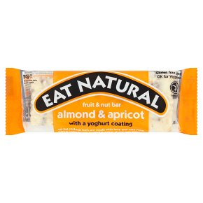 Eat Natural almond & apricot bar with yoghurt coating
