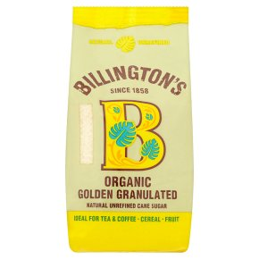 Billington's Organic Golden Granulated Sugar