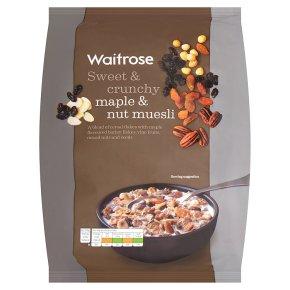 Waitrose Maple & Nut Muesli