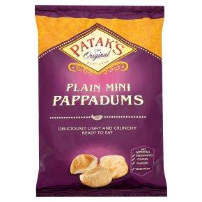 Patak's Plain Mini Pappadums