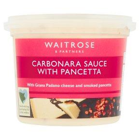 Waitrose Carbonara Sauce with Pancetta
