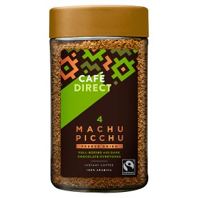 Cafédirect Fairtrade Machu Picchu Instant Coffee