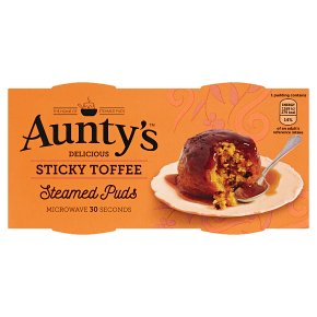 Aunty's Sticky Toffee Steamed Puds