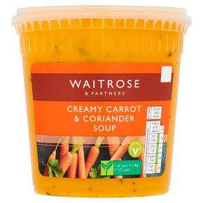 Waitrose Carrot Coriander Soup