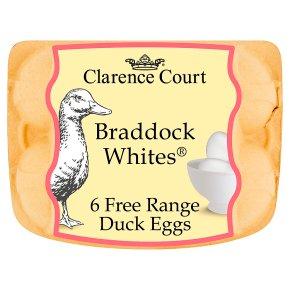 Clarence Court Braddock Whites Free Range Duck Eggs