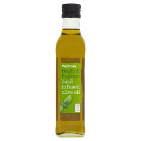 Waitrose basil infused olive oil