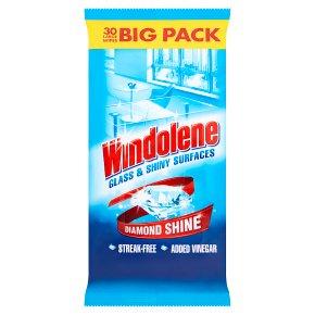 Windolene Wipes 4 action system