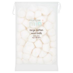 Waitrose Mini Baby Cotton Wool Balls
