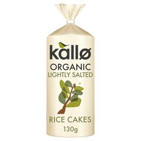 Kallo Rice Cakes Lightly Salted Wholegrain Low fat