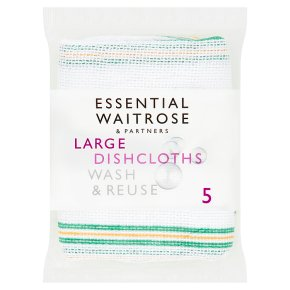 essential Waitrose large dishcloths
