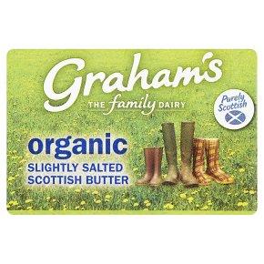 Graham's Organic Slightly Salted Scottish Butter