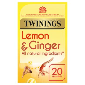 Twinings Lemon & Ginger Tea 20 Tea Bags