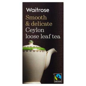 Waitrose Ceylon Tea Loose Leaf Tea