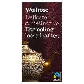 Waitrose darjeeling leaf tea