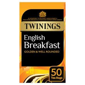 Twinings 50 Tea Bags English Breakfast