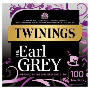 Twinings Earl Grey Tea 100 Tea Bags