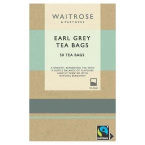 Waitrose 50 tea bags Earl Grey