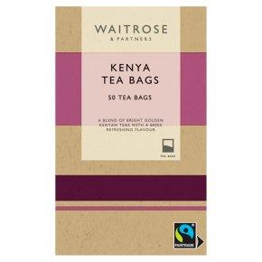 Waitrose Kenya Tea 50 Tea Bags