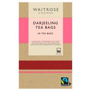 Waitrose Darjeeling Tea 50 Tea Bags