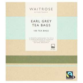 Waitrose Earl Grey Tea 100 Tea Bags