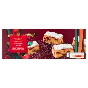 Waitrose Christmas Stollen Slices