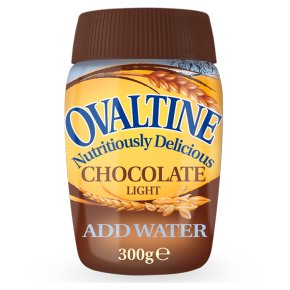 Ovaltine chocolate light