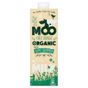 Moo Organic Semi Skimmed Milk