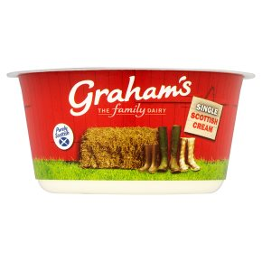 Graham's fresh Scottish single cream