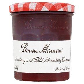 Bonne Maman Strawberry & Wild Strawberry Conserve