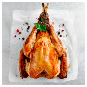 Small Free Range Bronze Feathered Whole Turkey with Giblets
