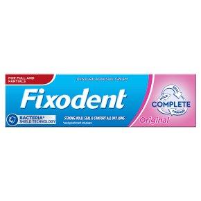 Fixodent Adhesive Cream
