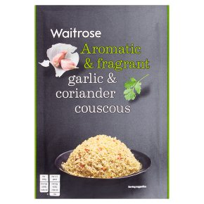 Waitrose garlic & coriander couscous