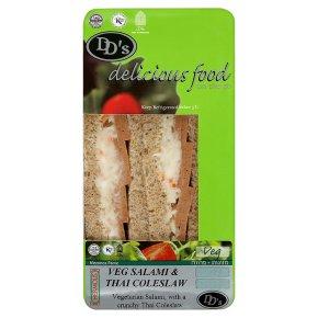DDs Ksh Veg Salami Clslaw Sandwich