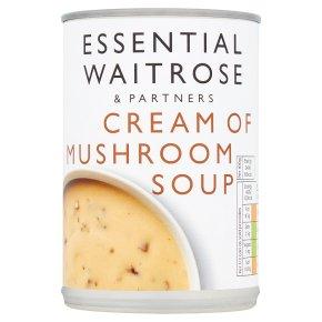 Essential Cream of Mushroom Soup