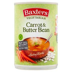 Baxters vegetarian soup carrot & butterbean