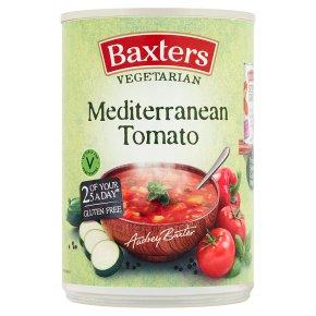 Baxters vegetarian soup Mediterranean tomato