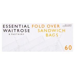 essential Waitrose single sandwich bags