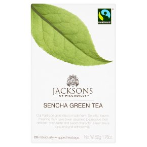 Jacksons Sencha Green Tea 20 Tea Bags