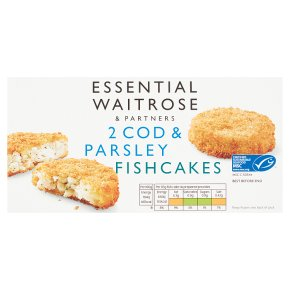 Essential 2 Cod & Parsley Fish Cakes