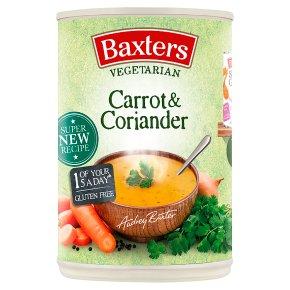 Baxters vegetarian soup carrot & coriander