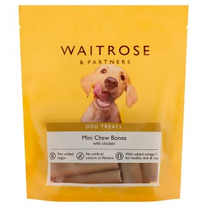 Waitrose Mini Chew Bones Chicken
