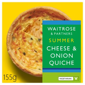 Waitrose Cheese & Onion Quiche