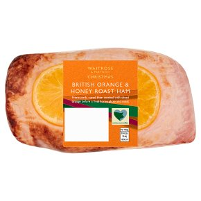 Waitrose Christmas Orange & Honey Roast Ham
