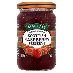 Mackays preserve raspberry
