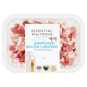 Essential British Bacon Unsmoked Lardons
