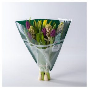 Waitrose Hyacinth & Tulip Bouquet