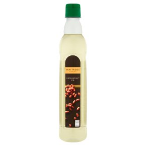 Waitrose groundnut oil