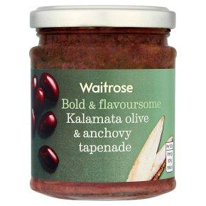 Waitrose Tapenade Kalamata Olive & Anchovy