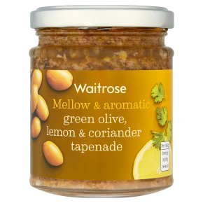 Waitrose Tapenade Green Olive Lemon & Coriander